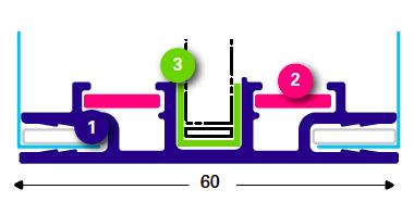T-FLEX systém 60/2